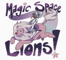Magic Space Lion! Kids Tee