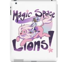 Magic Space Lion! iPad Case/Skin