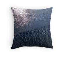 Ice and Water Throw Pillow