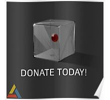 Abstergo Blood Donation Poster