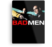 Bad Men - Jesse & Walt Metal Print