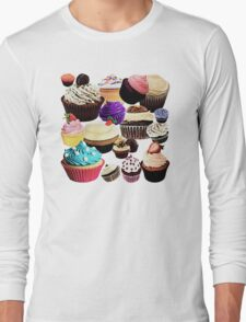 Cup Cake Long Sleeve T-Shirt
