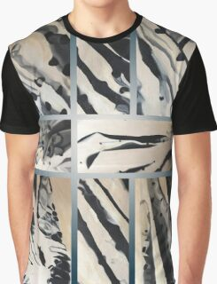Original abstract dots and lines Design Graphic T-Shirt
