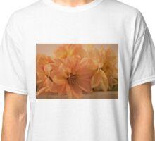 Peachy Dahlias Classic T-Shirt