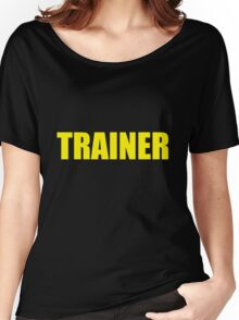 Trainer (Yellow) Women's Relaxed Fit T-Shirt