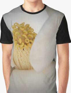 Magnolia macro Graphic T-Shirt