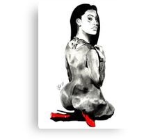 TattedUpHolly. Canvas Print