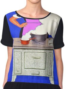 Vintage poster - Baudin Chiffon Top
