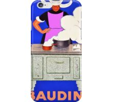 Vintage poster - Baudin iPhone Case/Skin