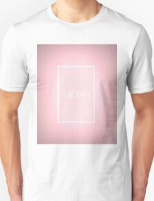 the pink 1975 Unisex T-Shirt