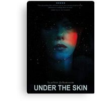 Under the skin Canvas Print