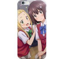 Kono Bijutsubu ni wa Mondai ga Aru! - Mizuki & Collette iPhone Case/Skin