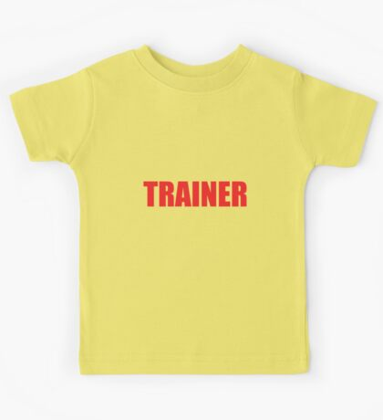 Trainer (Red) Kids Tee