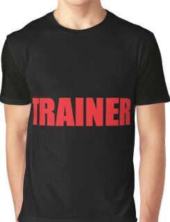 Trainer (Red) Graphic T-Shirt