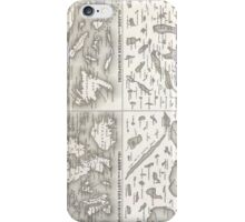 Vintage Map of The Lakes and Islands of The World iPhone Case/Skin