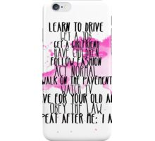 I Am Free iPhone Case/Skin