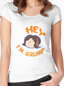 Game Grumps - Hey I'm Grump Women's Fitted Scoop T-Shirt