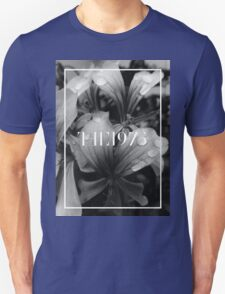 b&w flowers the 1975 Unisex T-Shirt