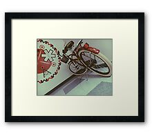 911, what's your.... Framed Print