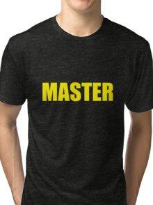 Master (Yellow) Tri-blend T-Shirt