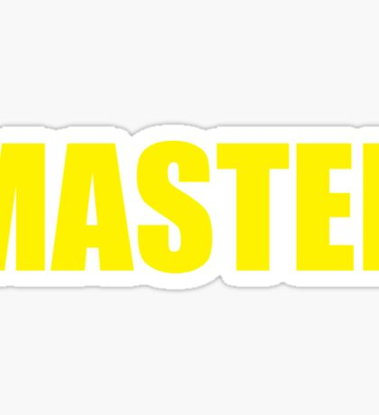 Master (Yellow) Sticker