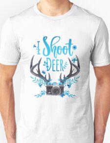 I Shoot Deer Unisex T-Shirt