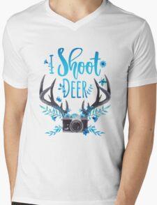 I Shoot Deer Mens V-Neck T-Shirt