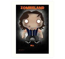 Bill Murray Zombieland Art Print