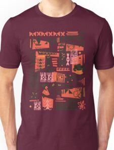 Moana Red Print Unisex T-Shirt