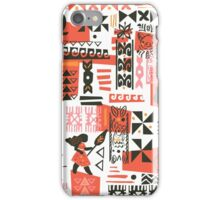 Moana Red Print iPhone Case/Skin