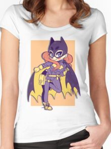 New DC BatGirl Women's Fitted Scoop T-Shirt