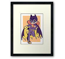 New DC BatGirl Framed Print