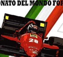 Monza F1 1986 Sticker