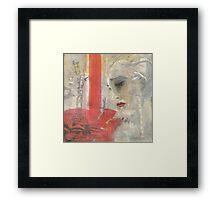 Sybil in New York (oil) Framed Print
