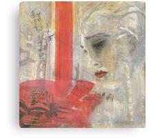 Sybil in New York (oil) Canvas Print