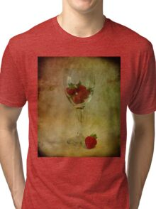 Strawberry Still Life Tri-blend T-Shirt