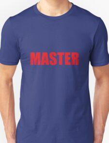 Master (Red) Unisex T-Shirt
