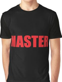 Master (Red) Graphic T-Shirt