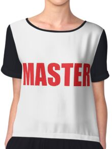 Master (Red) Chiffon Top