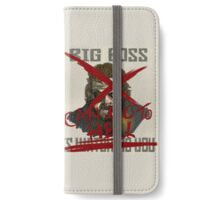 Big Boss Is Watching You/Go To Hell iPhone Wallet/Case/Skin