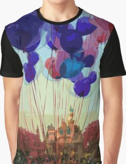Up In The Air Graphic T-Shirt