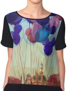 Up In The Air Chiffon Top
