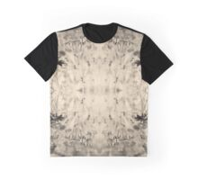 Flower in mirror - sepia Graphic T-Shirt