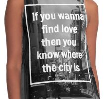 the city - the 1975 Contrast Tank