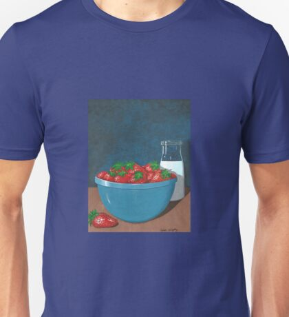 Strawberries and Cream Unisex T-Shirt
