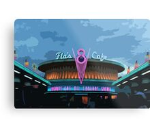 Flo's Cafe Metal Print