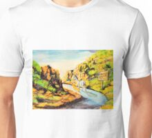 Donkey~Pembroke Corgi~head for Cripple Creek Colorado~Jackass Unisex T-Shirt