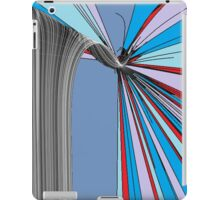 Red, White and Blue Break iPad Case/Skin