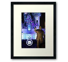 Walt's Dream of 60 Years Framed Print
