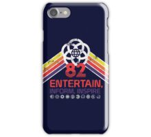 EPCOT Shirt - Distressed Logo - Entertain Inform Inspire iPhone Case/Skin